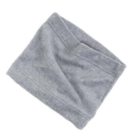 Grand Sierra Super Soft Fleece Neck Gaiter/Warmer (For Women) in Heather Grey