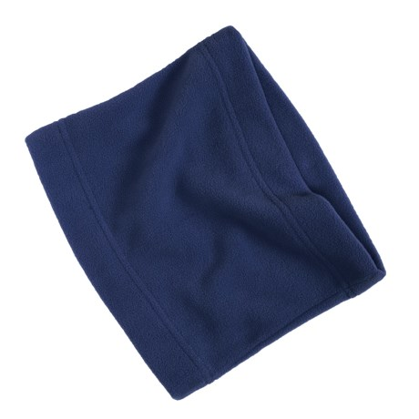 Grand Sierra Super Soft Fleece Neck Gaiter/Warmer (For Women) in Navy