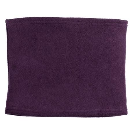 Grand Sierra Super Soft Fleece Neck Gaiter/Warmer (For Women) in Purple