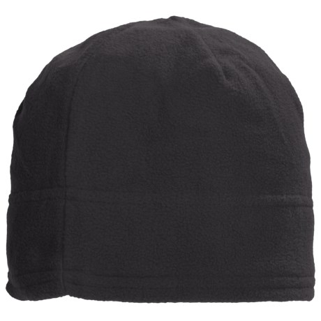 Grand Sierra Supersoft Microfleece Beanie (For Women) in Black