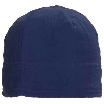 Grand Sierra Supersoft Microfleece Beanie (For Women) in Navy - Closeouts