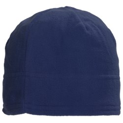 Grand Sierra Supersoft Microfleece Beanie Hat (For Women) in Navy