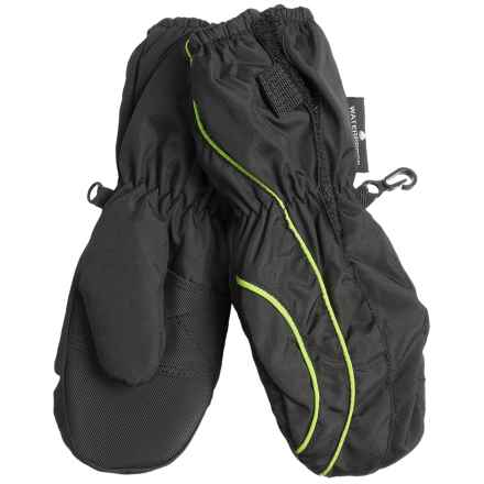 Grand Sierra Thinsulate® Snow Mittens - Insulated (For Toddlers) in Black/Yellow - Closeouts