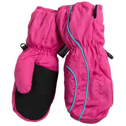 Grand Sierra Thinsulate® Snow Mittens - Insulated (For Toddlers) in Hot Pink - Closeouts