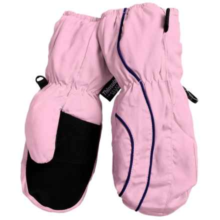 Grand Sierra Thinsulate® Snow Mittens - Insulated (For Toddlers) in Light Pink - Closeouts
