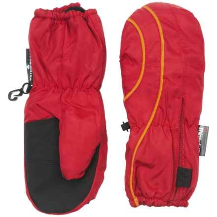 Grand Sierra Thinsulate® Snow Mittens - Insulated (For Toddlers) in Red/Yellow - Closeouts
