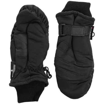 Grand Sierra Tusser Thinsulate® Ski Mittens - Insulated (For Little Boys) in Black - Closeouts