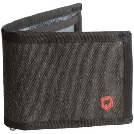Grand Trunk Bi-Fold Wallet in Midnight - Closeouts
