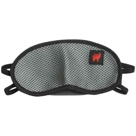 Grand Trunk Blackout Travel Eye Mask - Small in Gray/Black - Closeouts