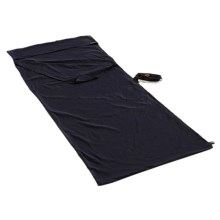 Grand Trunk Cotton Sleep Sack Sleeping Bag Liner in Navy - Closeouts