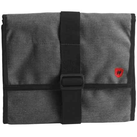 Grand Trunk Explorer Toiletry Bag - Large in Mountain Grey - Closeouts