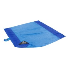 Grand Trunk Parasheet Beach and Picnic Blanket in Light Blue/Blue - Closeouts