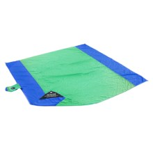 Grand Trunk Parasheet Beach and Picnic Blanket in Sea Green/Blue - Closeouts