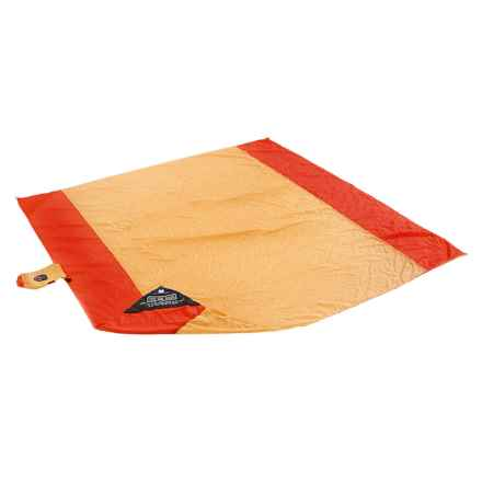 Grand Trunk Parasheet Beach and Picnic Blanket in Yellow/Orange - Closeouts