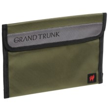 Grand Trunk Travel Field Pouch - Large in Olive - Closeouts