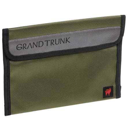 Grand Trunk Travel Field Pouch - Small in Olive - Closeouts