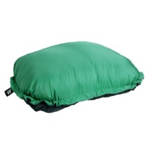 Grand Trunk Travel Pillow - Extra Large in Light Green/Charcoal - Closeouts