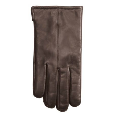 Grandoe Ace Sheepskin Leather Gloves (For Men) in Brown