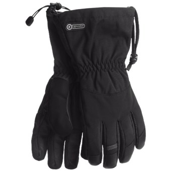 Grandoe All-Terrain Gloves - Waterproof, Insulated (For Men) in Black/Black