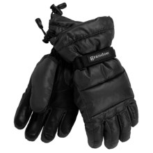Grandoe Arctic Down Gloves - Waterproof (For Women) in Black - Closeouts