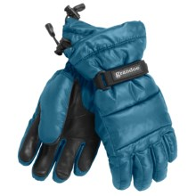 Grandoe Arctic Down Gloves - Waterproof (For Women) in Teal - Closeouts