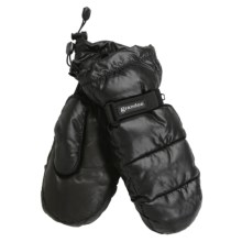 Grandoe Arctic Down Mittens - Waterproof (For Men) in Black - Closeouts