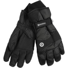 Grandoe Blazer ThermaDry Gloves - Waterproof (For Men) in Black/Black - Closeouts