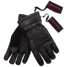 Grandoe Convoy Gloves - Waterproof, Insulated (For Men) in Black - Closeouts