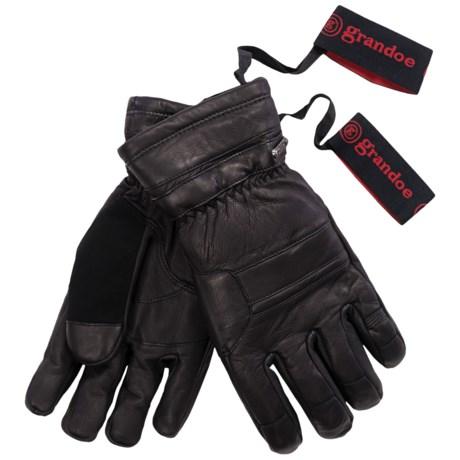 Grandoe Convoy Gloves - Waterproof, Insulated (For Men) in Black