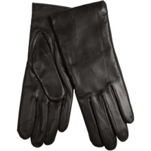 Grandoe Deerskin Driving Gloves (For Women) in Black - Closeouts