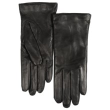 Grandoe Deerskin Gloves, Cashmere Lined (For Women) in Black - Closeouts