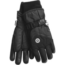 Grandoe Emily Gloves - Waterproof, Insulated (For Women) in Black - Closeouts