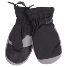 Grandoe Hybrid Mittens - Waterproof, Insulated (For Men) in Black/Stone - Closeouts