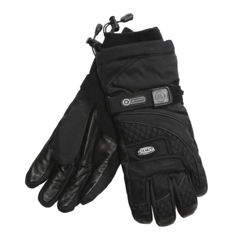 Grandoe Legacy Gloves - Waterproof, Insulated (For Men) in Black/Black/Black
