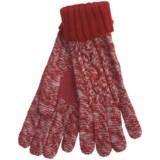 Grandoe Leto Sensor Touch Gloves - Wool Blend, Solid Cuff (For Women)