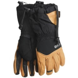 Grandoe Logan Dri-Gard® Gloves - Insulated (For Men) in Black/Palomino