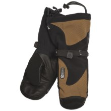 Grandoe McKinley Mittens - Waterproof, Insulated (For Men) in Chestnut/Black - Closeouts