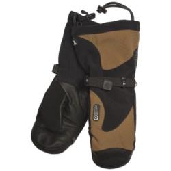 Grandoe McKinley Mittens - Waterproof, Insulated (For Men) in Chestnut/Black