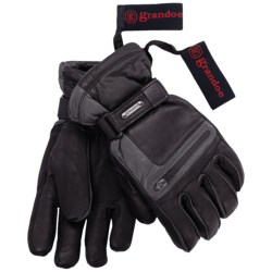 Grandoe Myth ThermaDry Gloves - Waterproof, Insulated (For Men) in Black/Graphite