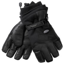 Grandoe New Hurricane Gloves - Waterproof, Insulated (For Men)  in Black - Closeouts