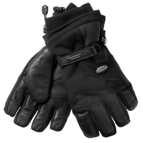 Grandoe New Hurricane Gloves - Waterproof, Insulated (For Men)  in Black