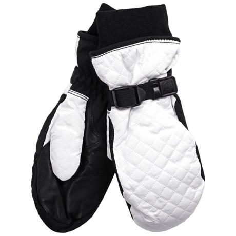 Grandoe Pillow Mittens - Waterproof, Insulated (For Women) in White