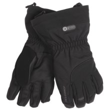 Grandoe Rainier Gloves - Waterproof, Insulated (For Men) in Black/Black - Closeouts