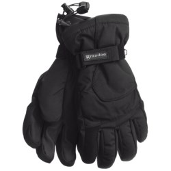 Grandoe Rattler Snow Sport Gloves - Waterproof, Insulated (For Men) in Sand