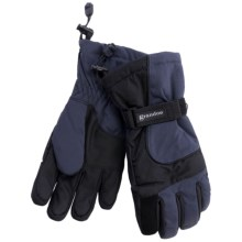 Grandoe Rattler Snow Sport Gloves - Waterproof, Insulated (For Men) in Slate - Closeouts