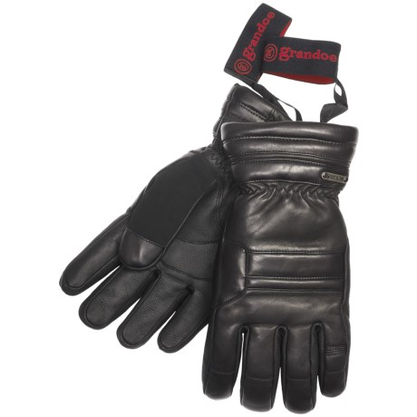 Grandoe Recon Gloves - Waterproof, Insulated (For Men) in Black