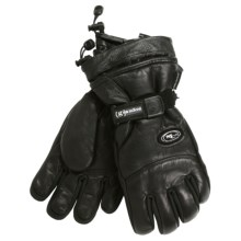 Grandoe Rover Gloves - Waterproof, Insulated (For Men) in Black - Closeouts