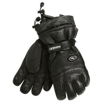 Grandoe Rover Gloves - Waterproof, Insulated (For Men) in Black