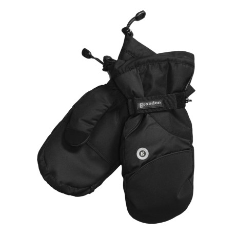 Grandoe Shadow II Mittens - Waterproof Insulated (For Men) in Black/Black