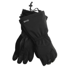 Grandoe Summit Gloves - PrimaLoft®, Waterproof (For Men) in Black - Closeouts